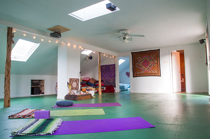 yoga studio rental