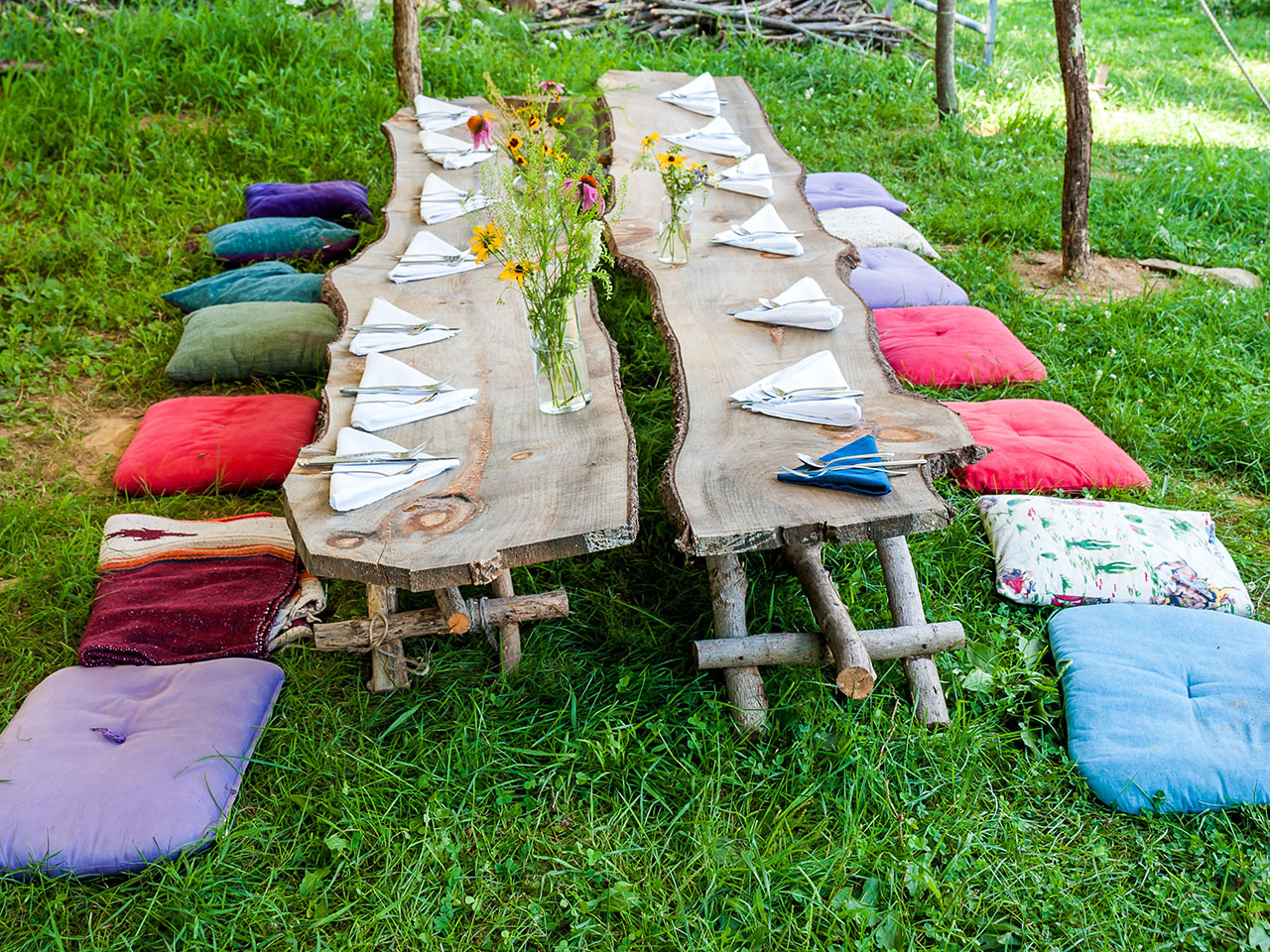 Bohemian Farm Table