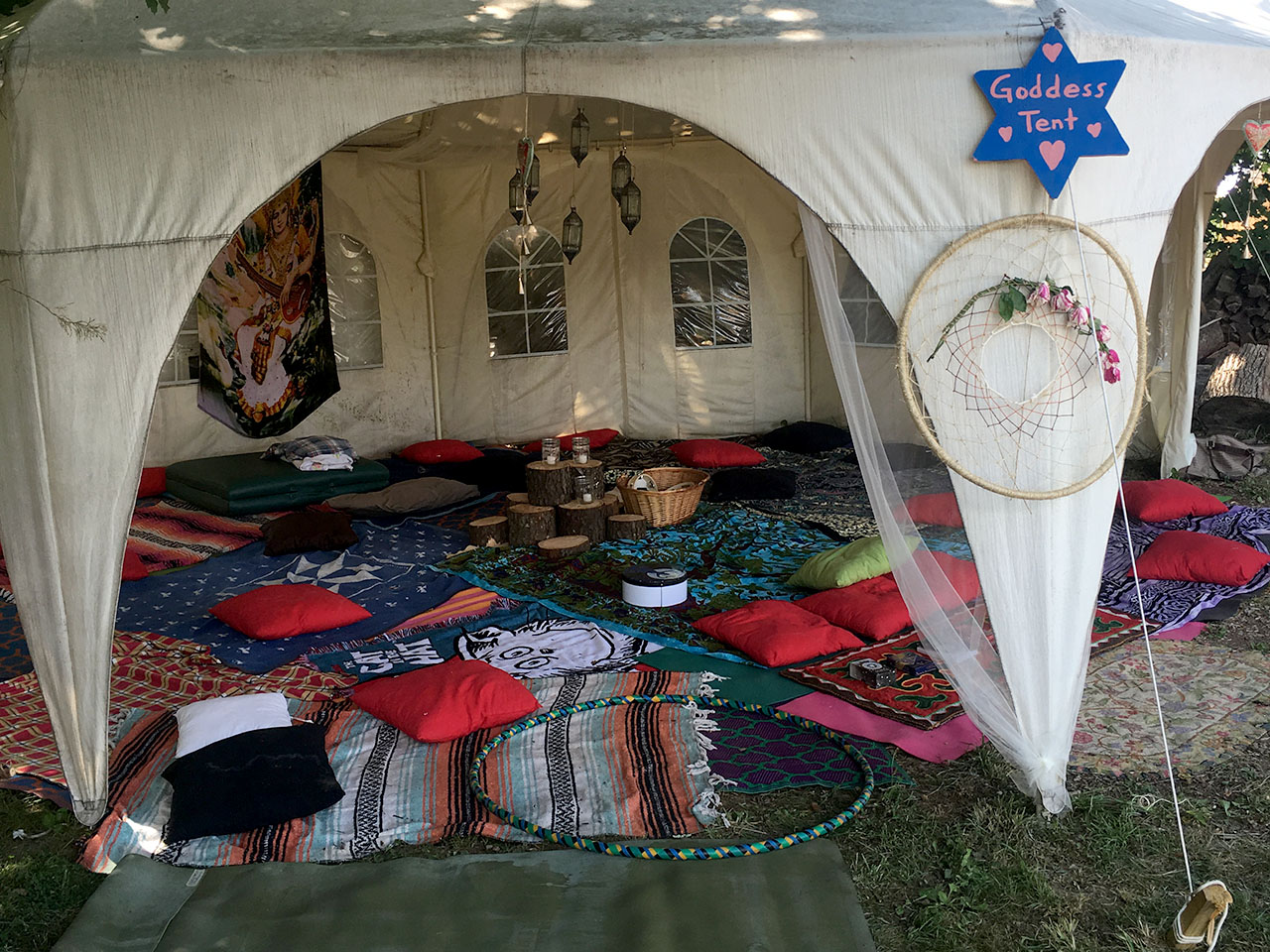 Goddess Tent